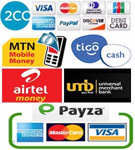 Method of payment accepted by Web Design Ghana